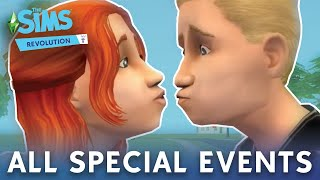 The Sims 2: All Special Events Camera Scenes (PC) HD