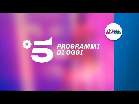 """CREAZIONE """"Programmi di oggi"""" Canale5   Tv Italia Memories"""