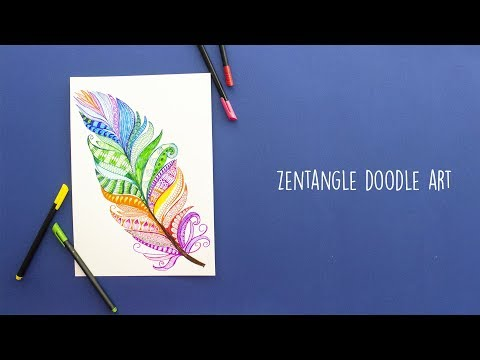 Zentangle Doodle Art