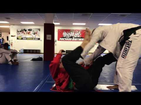 Carlos Machado red/black belt and Prof. Hernandez Jiu Jitsu