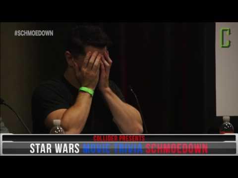 Sam Witwer Chokes in Star Wars Trivia Schmoedown