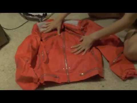 Michael Jackson Beat It Jacket Unboxing
