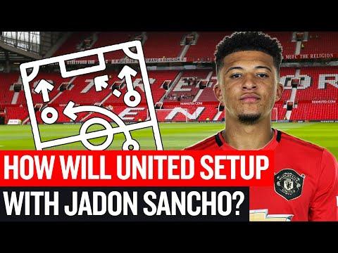 How Jadon Sancho Would Fit Into Manchester United's XI?   Tactics Talk