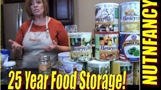25 Year Food Storage: Lisa B on Freeze Dried Storage Methods