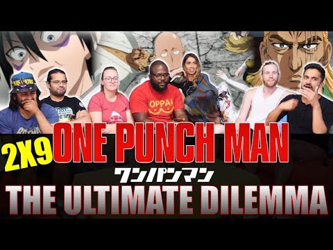 One Punch Man - 2x9 The Ultimate Dilemma - Group Reaction
