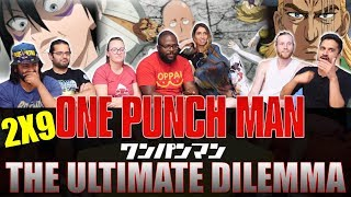 One Punch Man   2x9 The Ultimate Dilemma   Group Reaction