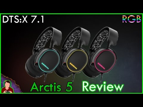 SteelSeries Arctis 5 Review | DTS:X 7.1 | RGB | In-depth |
