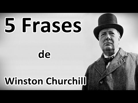 5 Frases De Winston Churchill Youtube