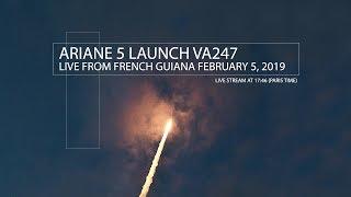 [Live] Ariane 5 launch VA247