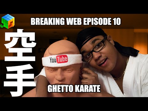 Breaking Web: Ghetto Karate VHS Tape