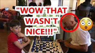 8 Year Old Chess Prodigy Vs Trash Talker! Boston Mike vs Armor Armen
