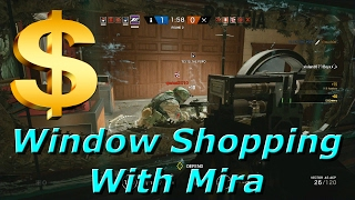 Mira Window Shopping - Rainbow Six Siege Funny Moments