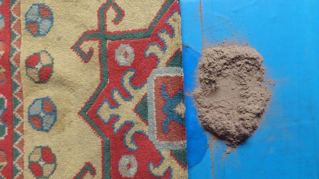 Como limpiar una alfombra limpieza alfombra turca polvo - Como lavar alfombras ...