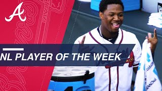 NL Player of the Week: Ronald Acuna Jr.