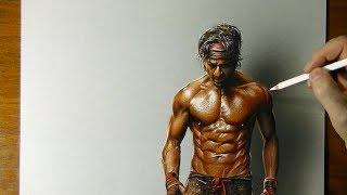Drawing Shah Rukh Khan aka SRK