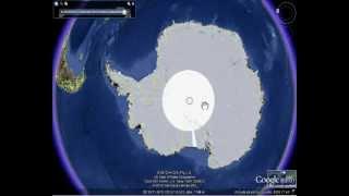 Os Mistérios da Antártida no Google Earth - Terra Oca ?