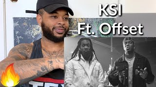 KSI – Cap (feat. Offset) [Official Music Video] | Reaction
