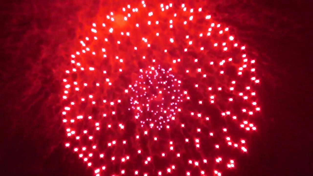 Новогодний салют в Кургане