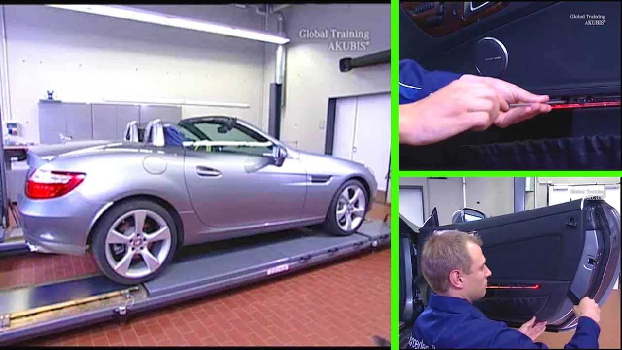 Mercedes Benz Slk How To Remove Install The Door Panel R172 Youtube
