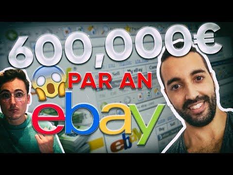 Rencontrez l'Homme Qui Fait 600,000€ Par An Sur EBAY