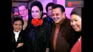 Nora Aunor And Erap Face Each Other