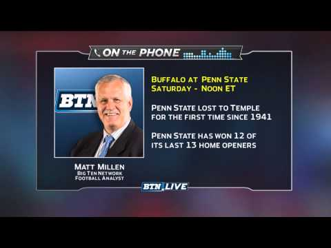 Matt Millen Talks B1G Heading Into Week 2