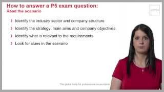Paper P5 effective study and exam technique