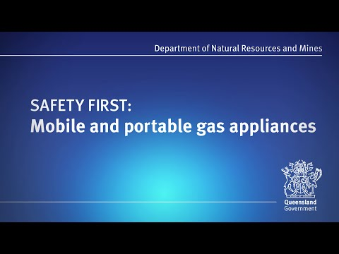 Safety first: Mobile and portable gas appliances