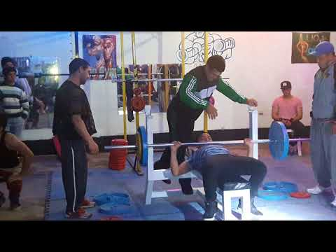 Lio Gym competencia press juvenil