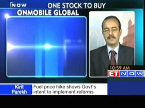 Jagdish Malkani Recommends To Buy OnMobile Global