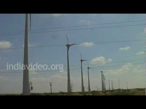 Wind Farm in Jamnagar, Gujarat