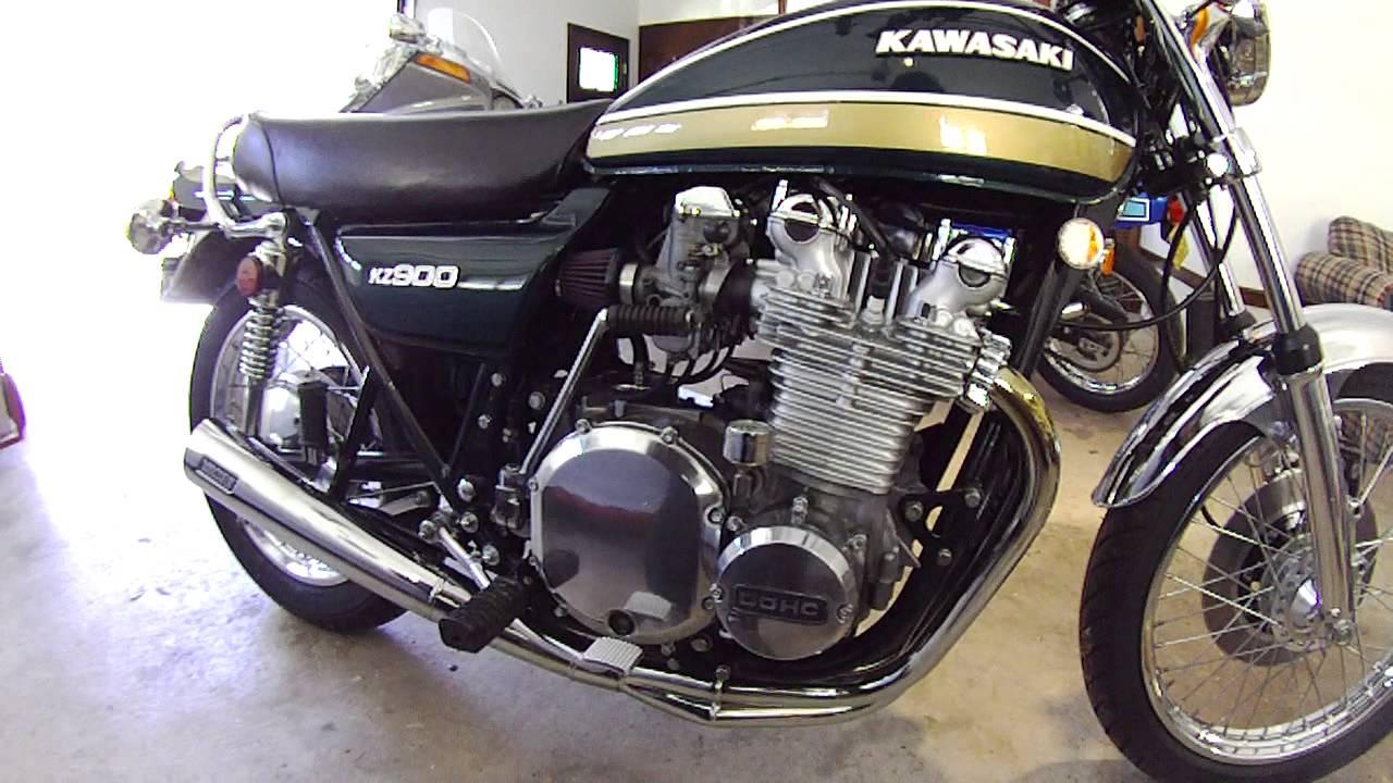 1976 Kz900 Youtube 75 Kawasaki Z1 Wiring Diagram Free Picture