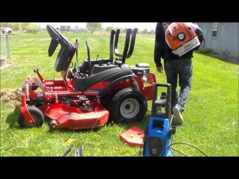 How to Wash Your Mower Simplicity Zero Turn