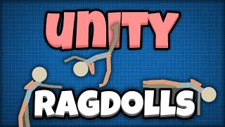 Thumbnail for 'Unity ragdolls! Make your characters floppy ;)'