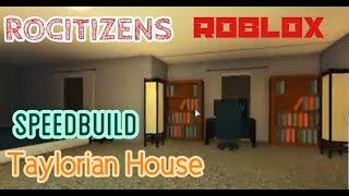 ROCITIZENS TAYLORIAN SPEEDBUILD | Speedbuild | Roblox