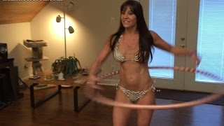 49 year old Farm Girl's Hoop Dance Lessons with Hula Hoop expert, Amelie.