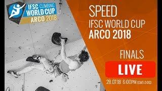 IFSC Climbing World Cup Arco 2018 - Speed - Finals - Men/Women
