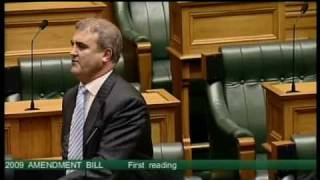 Immigration Act 2009 Amendment Bill - First Reading - Part 1