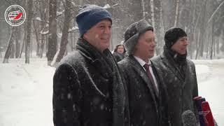 Торжественные проводы экипажей МКС-55/56 на Байконур