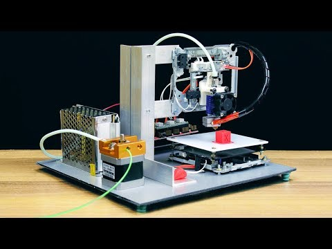 How to Make a 3D Printer at Home