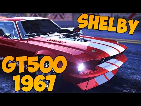 The Crew - Shelby GT500 1967  (Тюнинг+Тест)