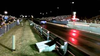 Nissan NX2000 with Built SR20DET spinning ALL the way down the track!