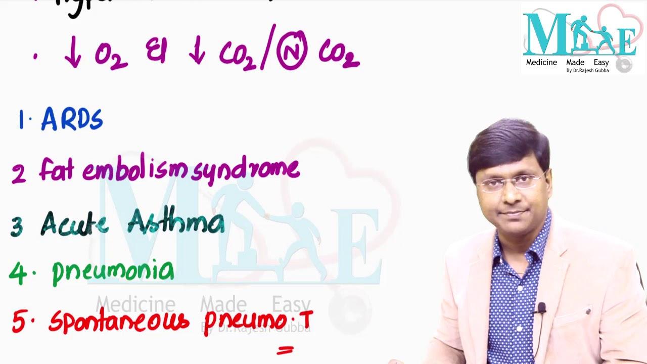 Respiratory failure : Internal medicine by Dr Rajesh Gubba