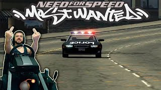 Горящий Соний на гонках и троллинг копов на Lexus IS300 прохождение Need for Speed Most Wanted