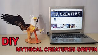 How to make Mythical Creatures Griffin - Paper craft