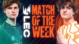 #LEC Match of the Week: Fnatic vs Mad Lions