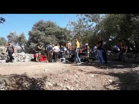 תיעוד: חירבת נעלין - יהודים מוחים על השתלטות ערבים