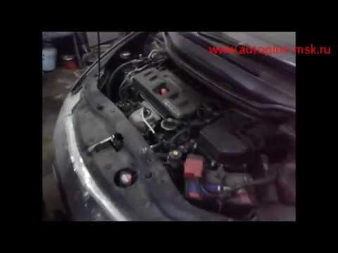 Замена сайлентблока переднего рычага хонда 128