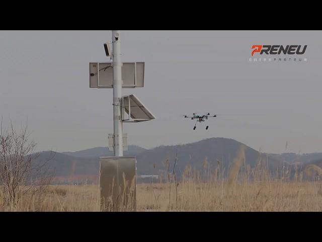 DRONEiT's hexa PANDION H & VTOL MILVUS;  collision avoidance based on 360 degree Lidar ditection.