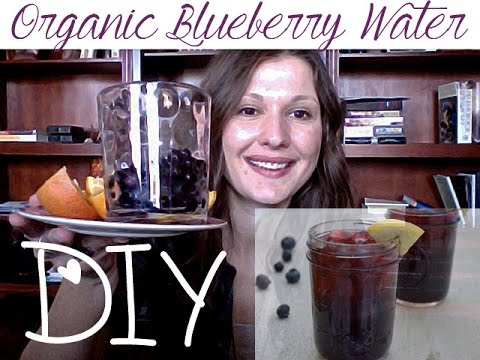 DIY Blueberry Water